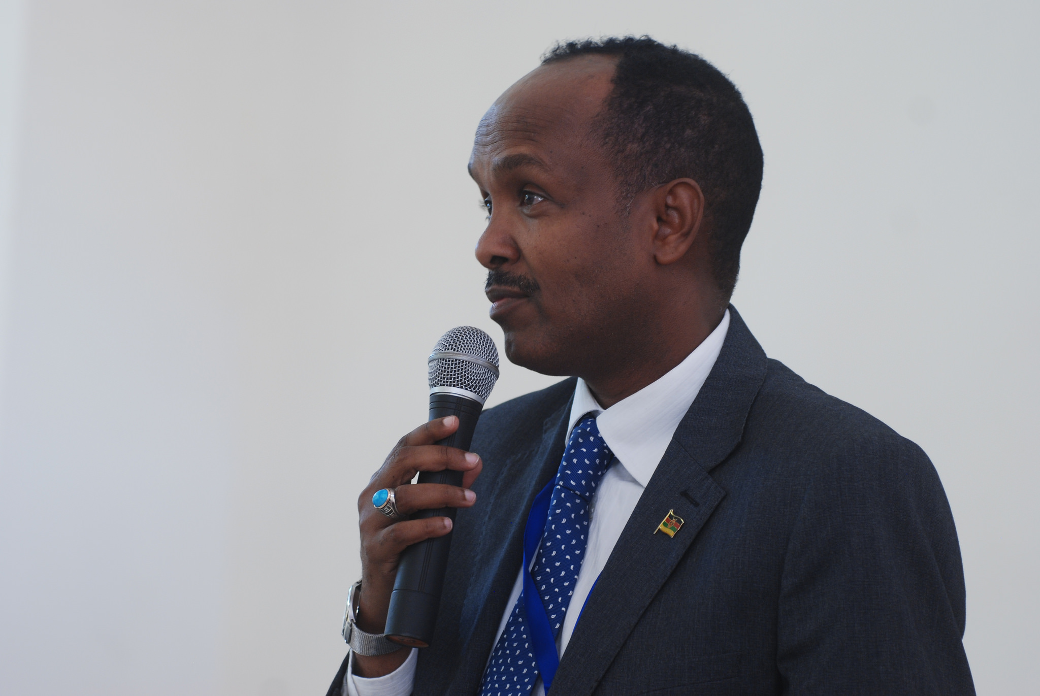 Dr Mukthar Ogle, Senior Advisor on Strategic Initiatives for Arid and Semi-arid Lands, Executive Office of the President of Kenya (photo:Leela Channer)