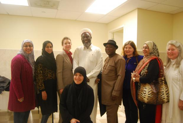 Imam Ashafa and Pastor Wuye with some participants at ADAMS