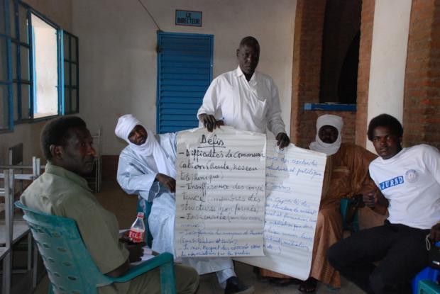 Chadian mediators during training