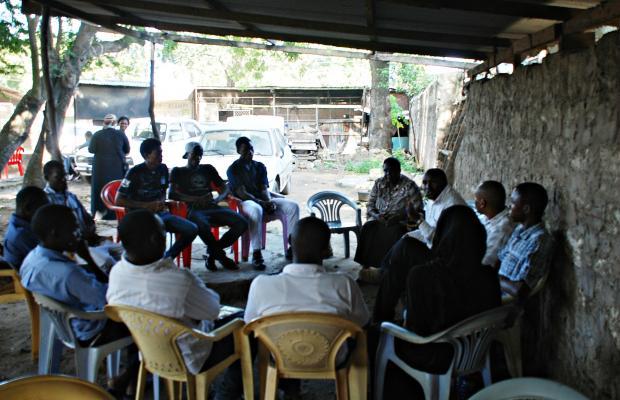 Meeting of the MIKA initiative in Mtwapa