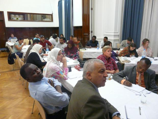 Participants in Cairo