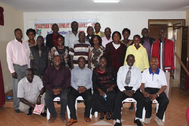 Community leaders in Baringo