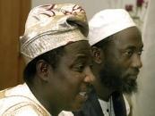Pastor James Movel Wuye (left) and Imam Muhammed Nurayn Ashafa from Nigeria