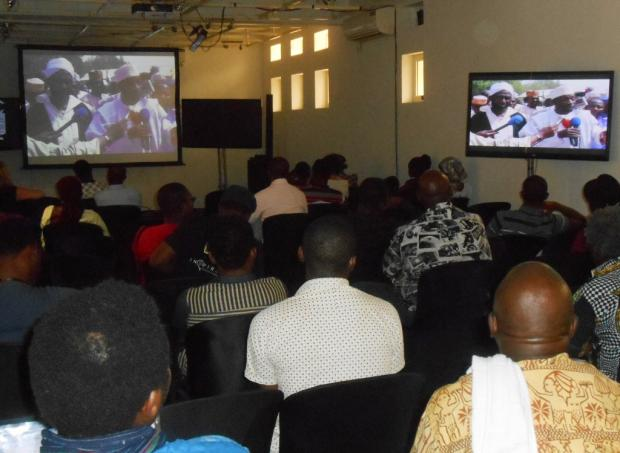 Screening of The Imam and the Pastor film at the iREP International Documentary Film Festival