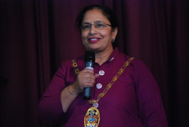 Mayor of Slough, Sukhjit Kaur Dhaliwal