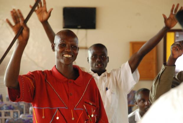 Participants from pastoralist communities in Baringo County pledge to end cattle-rustling.