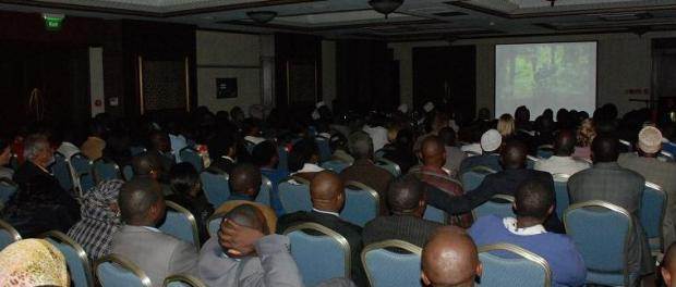 The Amani room was full to capacity for the screening