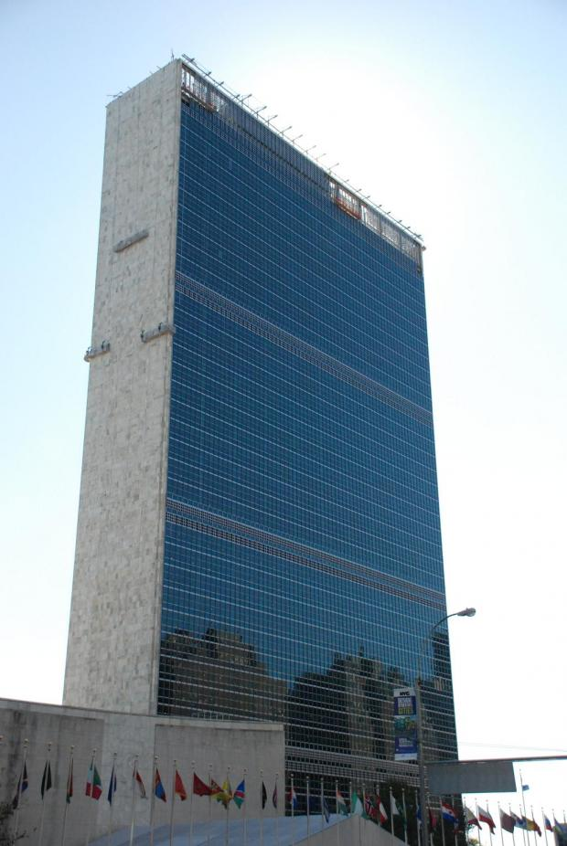 The United Nations building, New York