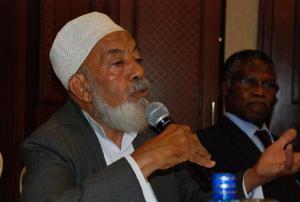 Professor Alghafur Elbusaidy (Photo: Mary Winstanley  Channer)