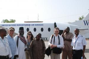 The team arrives in Abéché, eastern Chad (Photo: Alan Channer)