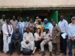 Participants and UN staff at the workshop in Moundou, southern Chad, with Imam Muhammad Ashafa and Pastor James Wuye