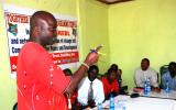 The Area Chief of Marigat, Zaphania Lekachuma, attended several sessions of the workshop