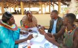 Discussion amongst the Pokot group