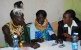 Discussion between Turkana and Kalenjin participants